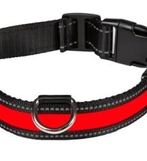 Eyenimal Eyenimal halsband usb licht rood / zwart