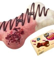 Lolo pets Cake for dogs mini bosvruchten hondensnack