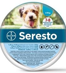Bayer Seresto teken- en vlooienband kleine hond