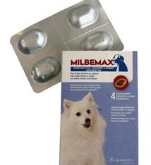Milbemax Milbemax kauwtablet ontworming kleine hond/puppy