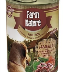Farm nature Farm nature wild boar / courgette / tomato / dill