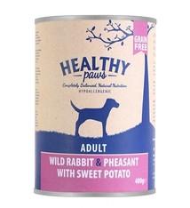 Healthy paws 6x healthy paws blik wild konijn / fazant / zoete aardappel