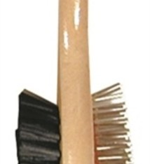 Soft protection salon Houten borstel dubbel