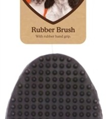 Rosewood Borstel rubber