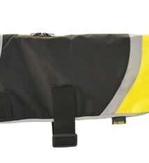 Go walk Go walk hondenjas hi-vis classic zwart / geel