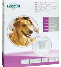 Petsafe Petsafe hondenluikje medium wit/transparant