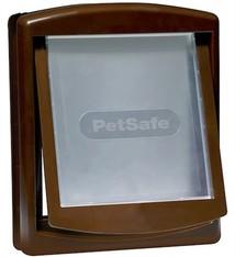 Petsafe Petsafe hondenluik medium bruin/tranparant