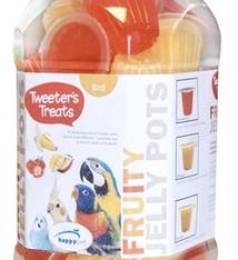 Tweeter's treats 27x tweeter's treats fruitige jelly mixed in pot