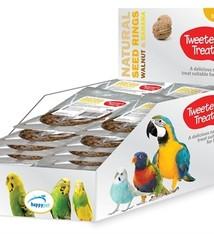 Tweeter's treats 10x tweeter's treats zaadring walnoot/banaan