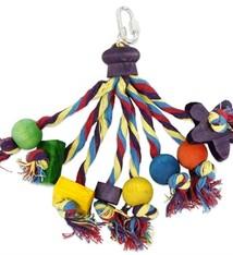 Happy pet Happy pet speelgoed papegaai carnival assorti
