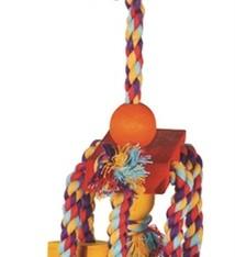 Happy pet Happy pet speelgoed papegaai fiesta assorti