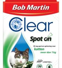 Clear spot on Bob martin clear spot on kat