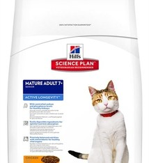 Hill's science plan Hill's feline mature adult active longevity kip
