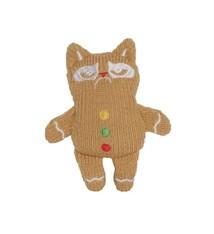 Grumpy cat Grumpy cat gebreide gemberkoekman met catnip