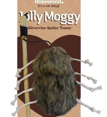 Jolly moggy Rosewood kattenhengel met spin matatabi
