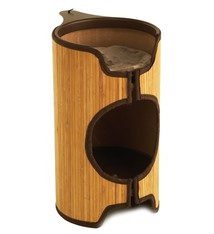 Jolly moggy Jolly moggy kattenmand cat tower bamboe