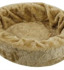 Petcomfort Petcomfort katten/hondenmand bont beige
