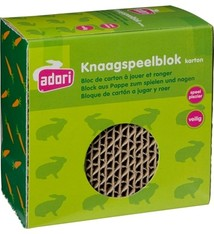Adori Adori knaagspeelblok karton