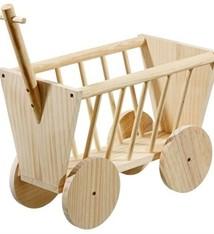 Karlie Karlie wonderland houten bolderwagen