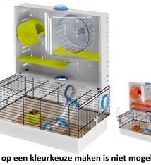 Ferplast Ferplast hamsterkooi olimpia assorti