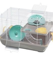 Imac Imac hamsterkooi criceti 9 taupe / mintgroen