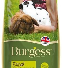 Burgess Burgess excel nuggets with mint rabbit adult konijnenvoer