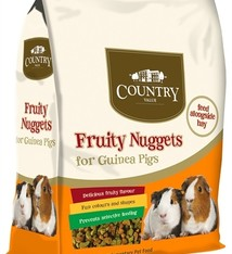 Burgess Burgess country value fruity nuggets guinea pig