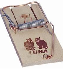 Luna Luna houten rattenval
