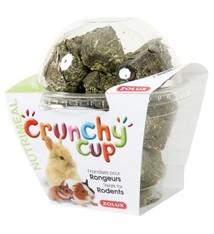 Zolux Zolux crunchy cup luzerne / wortel blokjes