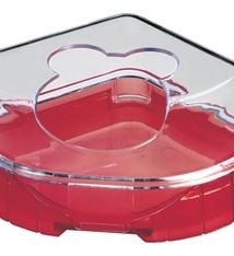 Zolux Zolux hamstertoilet rody lounge rood
