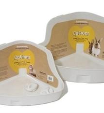 Rosewood Rosewood konijnentoilet hoek large creme
