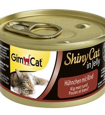 Gimcat 24x gimcat shinycat in jelly kip / rund