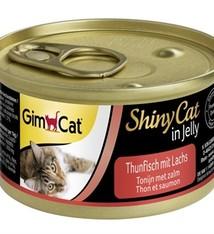 Gimcat 24x gimcat shinycat in jelly tonijn / zalm