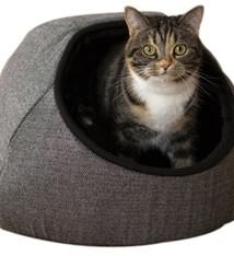Rosewood Rosewood kattenmand tweed grijs