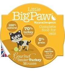 Little big paw Little big paw gourmet malse kalkoen mousse