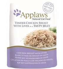 Applaws 16x applaws cat jelly chicken / liver