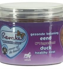Renske Renske hond gezonde beloning mini hartjes eend