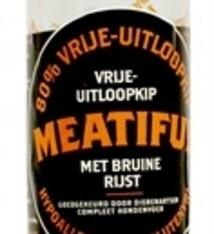 Meatiful Meatiful worst vrije uitloopkip met bruine rijst