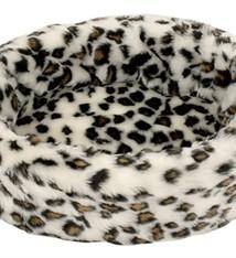 Petcomfort Petcomfort katten/hondenmand bont sneeuwluipaard