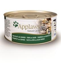 Applaws Applaws cat blik adult tuna / seaweed in gelei