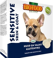 Biofood Biofood hondensnoepje sensitive hypoallergeen skin en coat