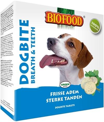Biofood Biofood dogbite hondensnoepje naturel (tandverzorging)