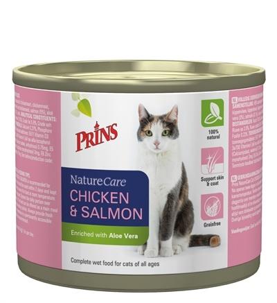 Prins Prins naturecare cat kip/zalm