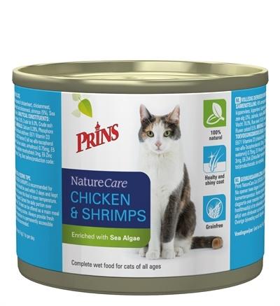 Prins Prins naturecare cat kip/garnaal