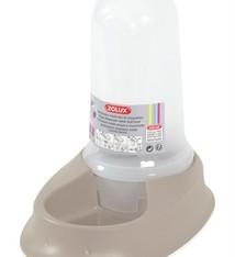 Zolux Zolux non-slip smart voer-/waterdispenser taupe