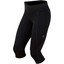 PEARL IZUMI BROEK DRIEKWART DAMES W SUGAR CYCLING 3QTR TIGHT BLACK SOLID