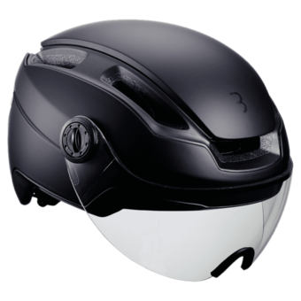 BBB BHE-56F INDRA HELM MET FACESHIELD + TRANSPARENT LENS