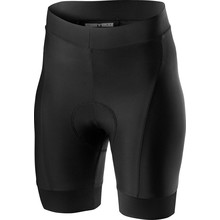 CASTELLI PRIMA SHORT DAMES BLACK/RED