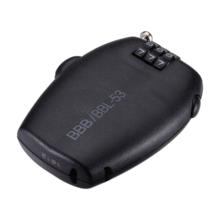 BBB BBL-53 FIETSSLOT MINICASE COIL CABLE 1.6MMX670MM ZWART