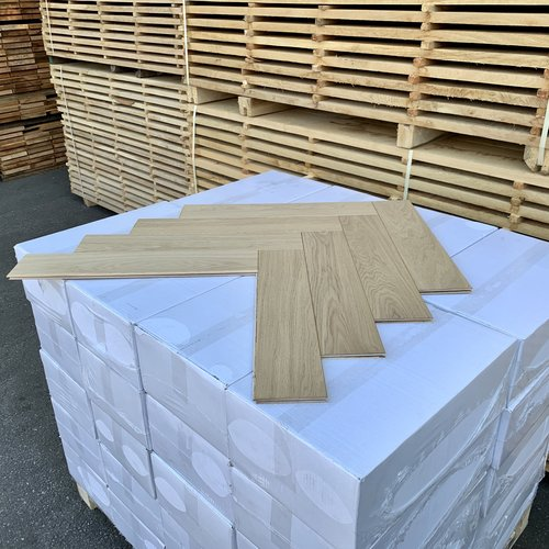 Europees eiken duoplank visgraat XL invisible look hardwaxolie 13x120x600 mm